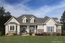 House Design - Country Exterior - Front Elevation Plan #929-610