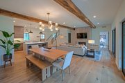 Craftsman Style House Plan - 4 Beds 2.5 Baths 2360 Sq/Ft Plan #901-138 Interior - Dining Room