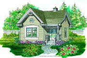 Traditional Style House Plan - 0 Beds 0 Baths 288 Sq/Ft Plan #47-640 Exterior - Other Elevation