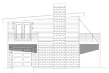 Contemporary Exterior - Other Elevation Plan #932-296