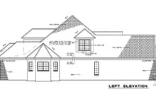 House Plan Design - Traditional Exterior - Other Elevation Plan #17-2121