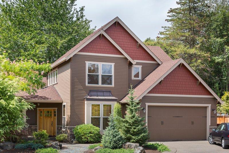 Dream House Plan - Craftsman Exterior - Front Elevation Plan #48-118