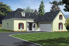Country Exterior - Front Elevation Plan #15-381