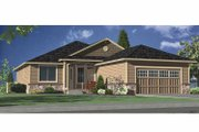 Contemporary Style House Plan - 3 Beds 3 Baths 3199 Sq/Ft Plan #951-13 Exterior - Front Elevation