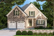 Architectural House Design - Country Exterior - Front Elevation Plan #927-683