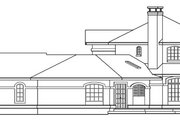 Mediterranean Style House Plan - 3 Beds 3 Baths 2979 Sq/Ft Plan #124-572 Exterior - Other Elevation