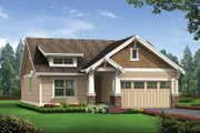 Craftsman Style House Plan - 3 Beds 2 Baths 1488 Sq/Ft Plan #132-529 Exterior - Front Elevation
