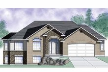 House Plan Design - Traditional Exterior - Front Elevation Plan #945-12