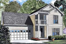 Classical Exterior - Front Elevation Plan #17-3190