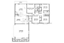 European Floor Plan - Main Floor Plan Plan #45-566