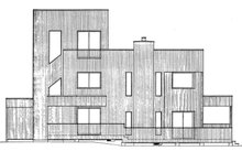 Dream House Plan - Contemporary Exterior - Other Elevation Plan #320-1018