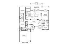 European Floor Plan - Main Floor Plan Plan #17-3366