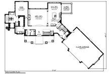 Craftsman Floor Plan - Main Floor Plan Plan #70-1288