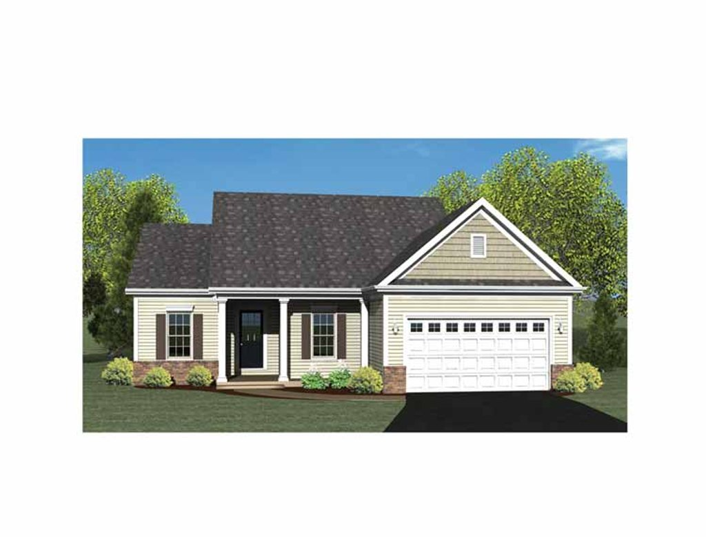 Ranch style house plan 2 beds 2 baths 1508 sq ft plan for Weinmaster house plans