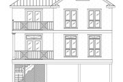 Beach Style House Plan - 3 Beds 2.5 Baths 1779 Sq/Ft Plan #37-151