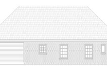 Dream House Plan - Traditional Exterior - Rear Elevation Plan #932-143