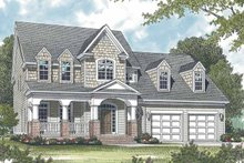 Country Exterior - Front Elevation Plan #453-530