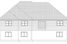 Home Plan - Ranch Exterior - Rear Elevation Plan #1060-10