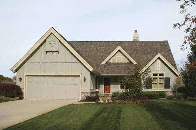 House Plan Design - European Exterior - Front Elevation Plan #928-153
