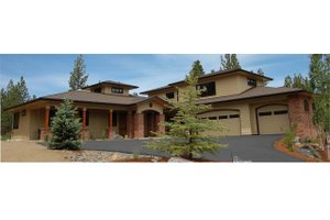 Craftsman Exterior - Front Elevation Plan #895-16