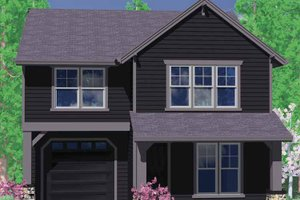 Traditional Exterior - Front Elevation Plan #509-181
