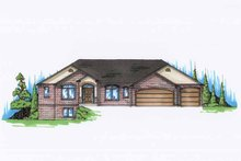 House Plan Design - Traditional Exterior - Front Elevation Plan #945-119