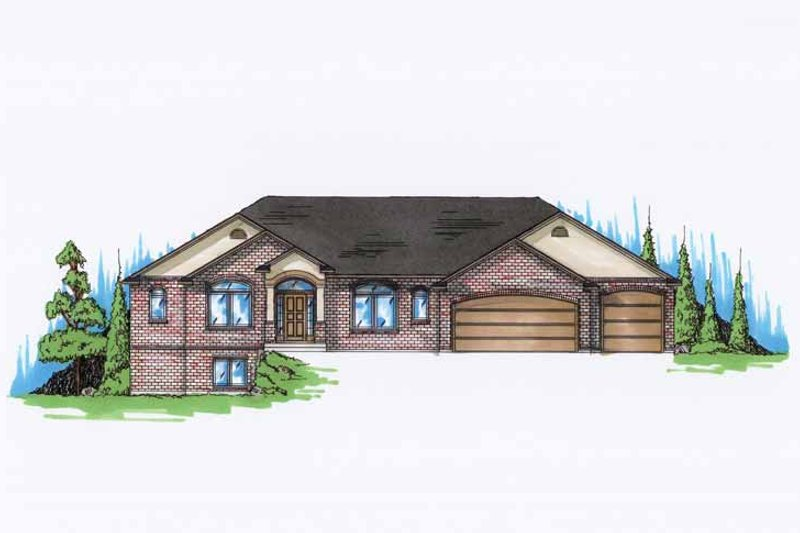 Traditional Exterior - Front Elevation Plan #945-119