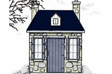 Dream House Plan - European Exterior - Front Elevation Plan #23-456