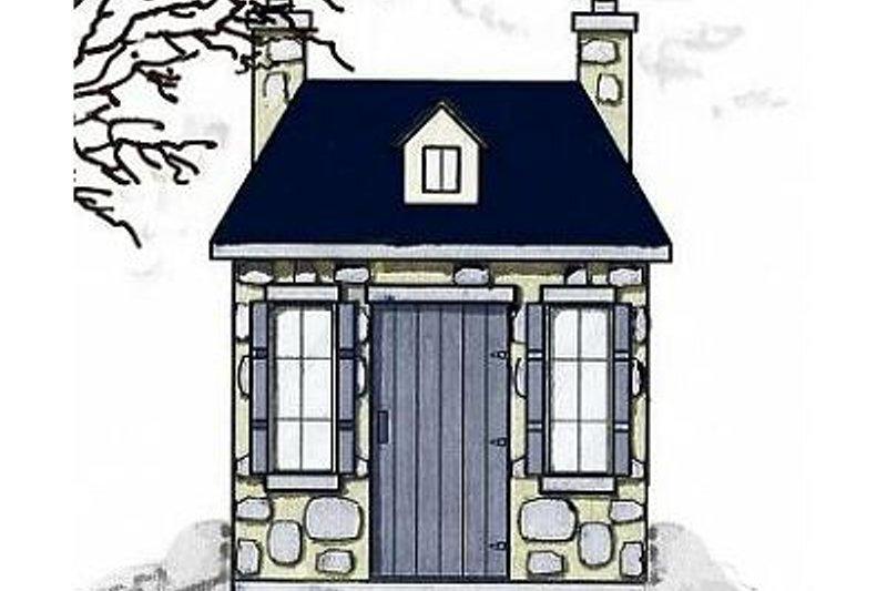 House Plan Design - European Exterior - Front Elevation Plan #23-456