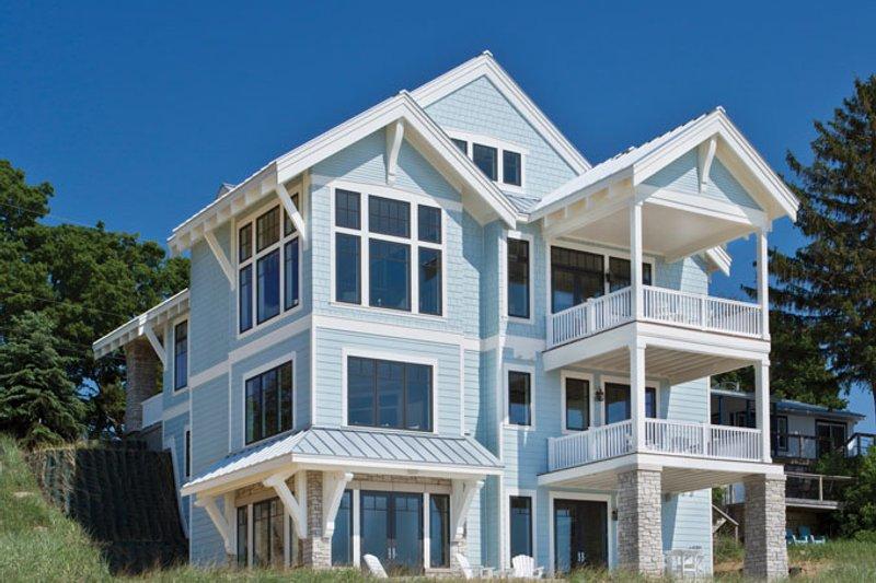 Craftsman Exterior - Rear Elevation Plan #928-268 - Houseplans.com