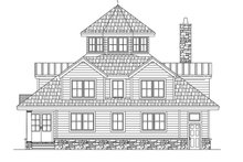 Contemporary Exterior - Rear Elevation Plan #1061-7