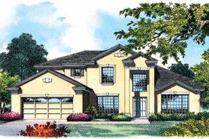 House Design - European Exterior - Front Elevation Plan #1015-6