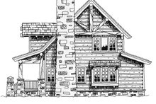 Cabin Exterior - Other Elevation Plan #942-25