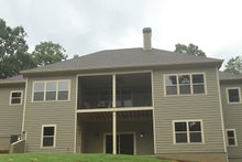 Craftsman Exterior - Rear Elevation Plan #437-75