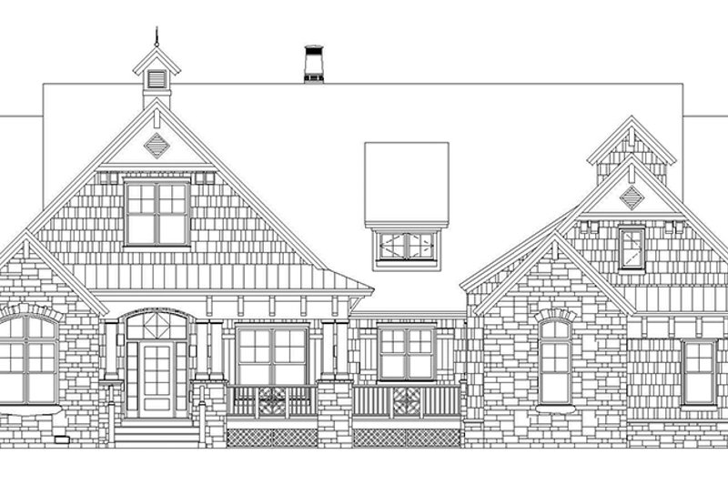 Craftsman Exterior - Front Elevation Plan #929-905 - Houseplans.com
