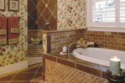 Ranch Style House Plan - 3 Beds 2.5 Baths 2555 Sq/Ft Plan #930-232 Interior - Master Bathroom