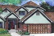 Traditional Style House Plan - 3 Beds 3 Baths 2406 Sq/Ft Plan #320-392 Exterior - Front Elevation