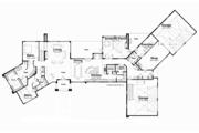 Contemporary Style House Plan - 4 Beds 4.5 Baths 4833 Sq/Ft Plan #928-255 Floor Plan - Main Floor Plan
