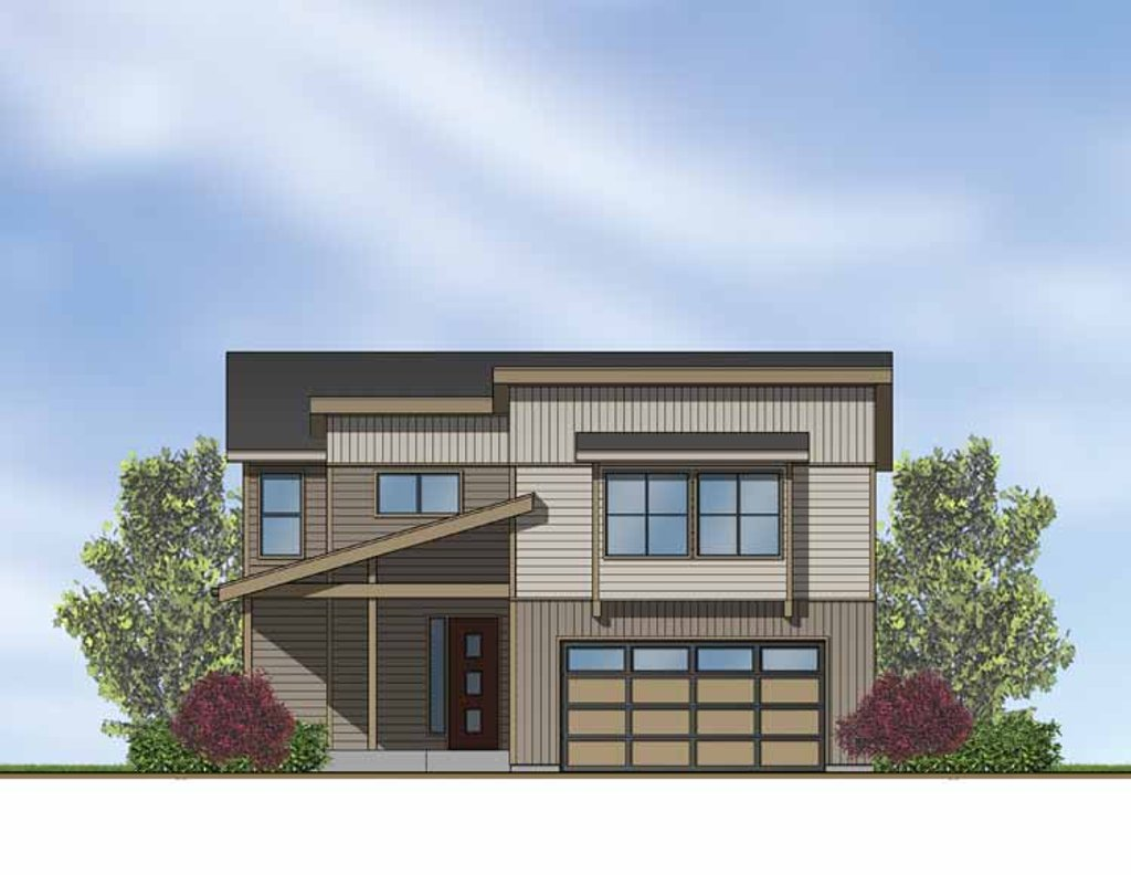 Contemporary style house plan 3 beds 2 5 baths 1940 sq for Home source com