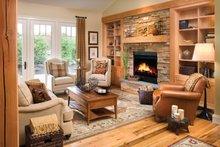 Ranch Interior - Family Room Plan #942-21
