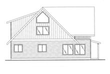 Dream House Plan - Exterior - Other Elevation Plan #117-829