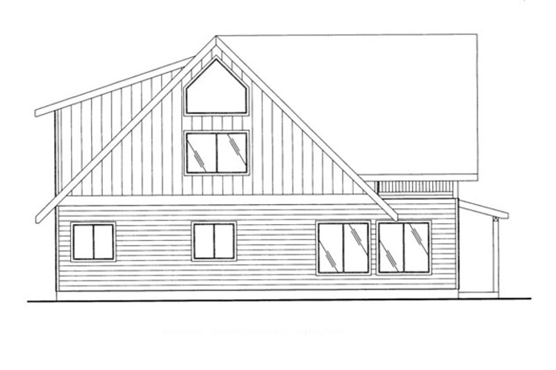Exterior - Other Elevation Plan #117-829 - Houseplans.com