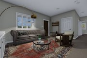 Traditional Style House Plan - 4 Beds 3 Baths 2138 Sq/Ft Plan #1060-54 Interior - Family Room