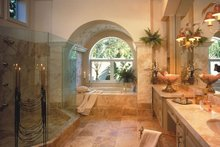 Mediterranean Interior - Master Bathroom Plan #930-106
