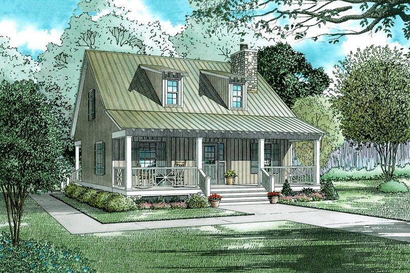 Home Plan - Farmhouse Exterior - Front Elevation Plan #17-2019