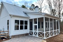 Farmhouse Exterior - Rear Elevation Plan #437-97