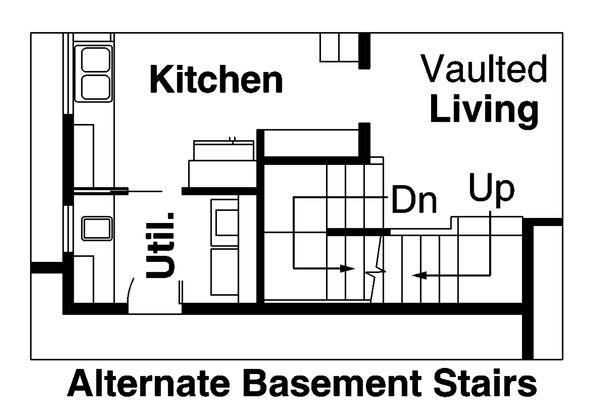 Craftsman Floor Plan - Other Floor Plan Plan #124-563