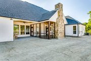 Southern Style House Plan - 4 Beds 3.5 Baths 2765 Sq/Ft Plan #1074-8 Exterior - Rear Elevation
