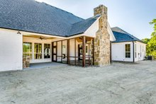 Home Plan - Southern Exterior - Rear Elevation Plan #1074-8