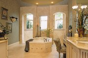 Mediterranean Style House Plan - 3 Beds 4 Baths 3954 Sq/Ft Plan #930-291 Interior - Master Bathroom